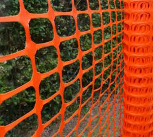 orange safety fence rental